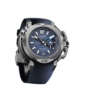 Clerc Hydroscaph Central Chronograph Small Seconds