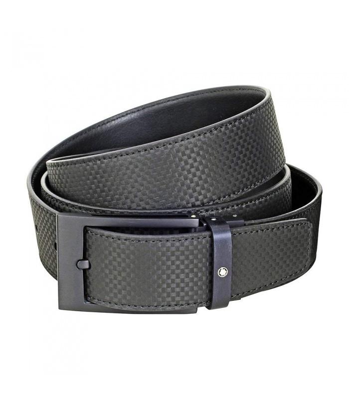 Cinturón Montblanc Extreme con hebilla negra