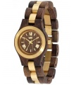 Reloj WeWood Criss Me Choco Rough Gold