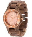 Reloj WeWood Date MB Nut Rough Rosa