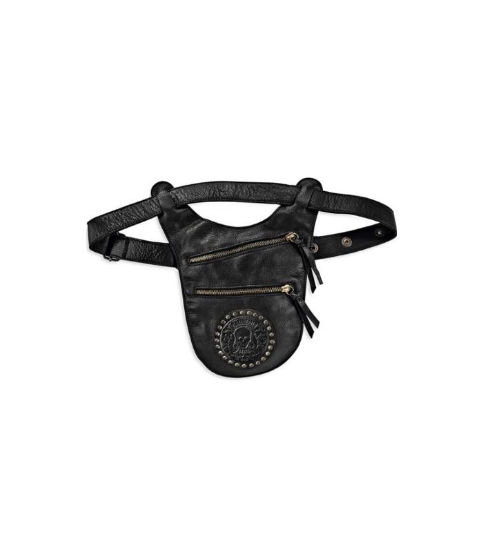 Bossa de cintura Plata de Palo col·lecció Skull