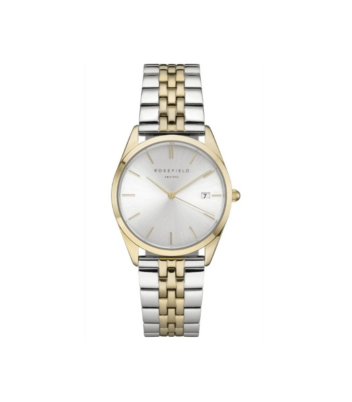 Reloj Rosefield The Ace Plata y oro