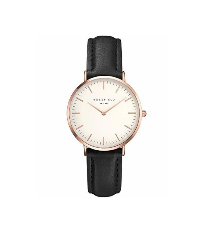Reloj Rosefield The Tribeca Blanco-Negro